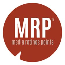 MRP (Media Ratings Points) Logo
